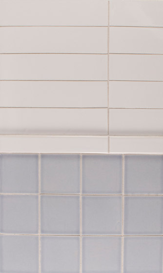 2x8 Portland Field | 3x3 Portland Field by Pratt & Larson Ceramics | Ceramic tiles