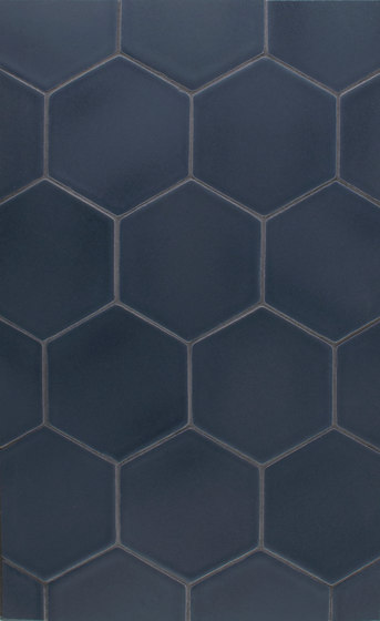 "5"" Hexagon Portland Field de Pratt & Larson Ceramics 