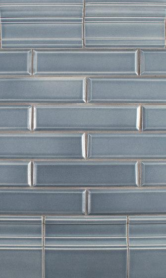 3 3/8 x 6 Plaza Cap| 2x8 Bevel| 45/8 x 6 Plaza Base B by Pratt & Larson Ceramics | Ceramic tiles