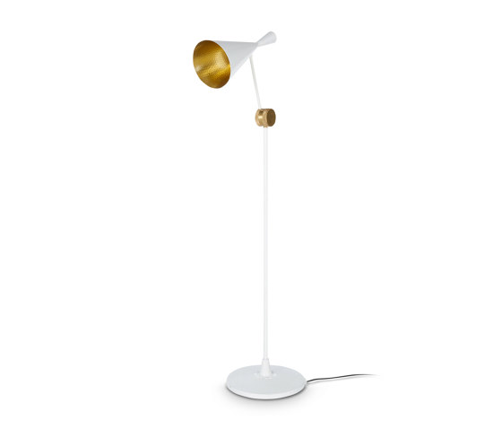Beat Floor White by Tom Dixon | Free-standing lights