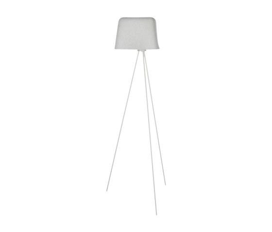 Felt Floor White by Tom Dixon | Free-standing lights