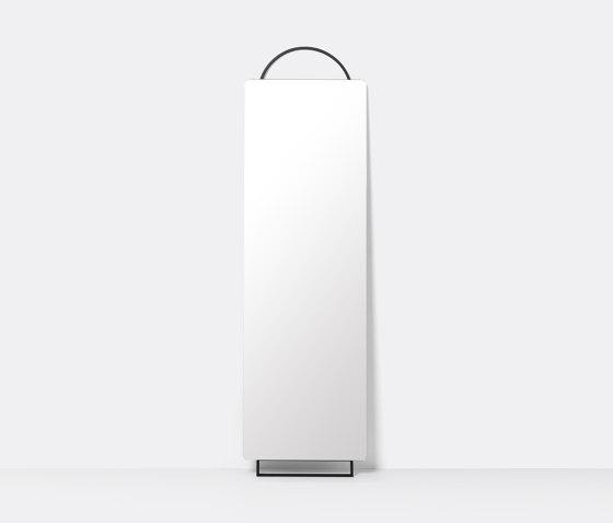 Adorn Mirror - Full size - Black de ferm LIVING   Miroirs