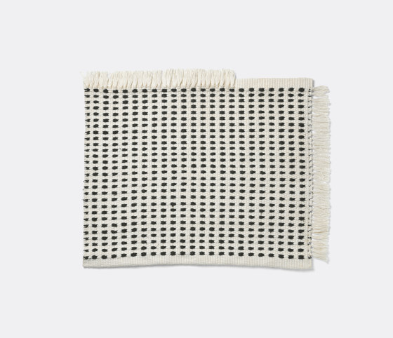 Way Mat - Off-White/Blue by ferm LIVING | Outdoor rugs