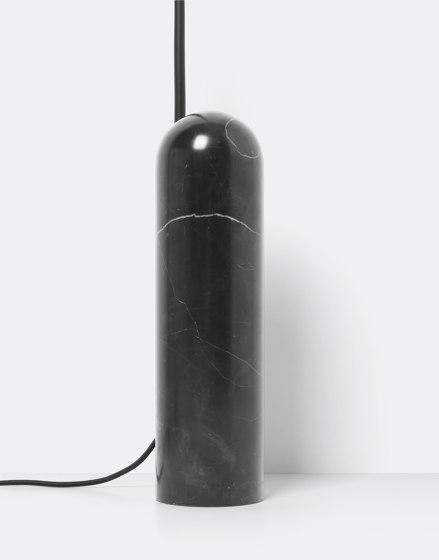 Arum Floor Lamp - Black de ferm LIVING | Luminaires sur pied