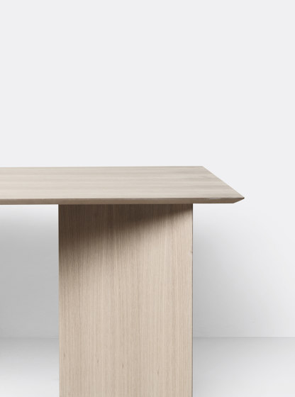 Mingle Table Top 160 cm - Natural Oak Veneer by ferm LIVING | Dining tables