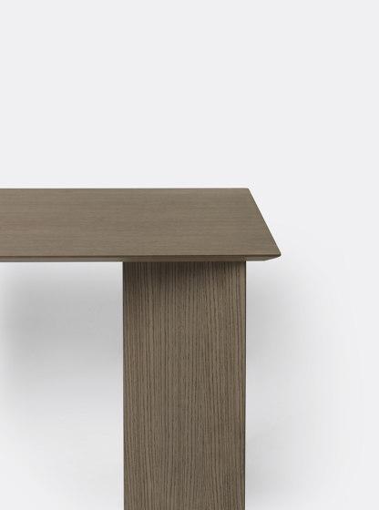 Mingle Desk Top 135 cm - Dark Stained Oak Veneer by ferm LIVING   Console tables