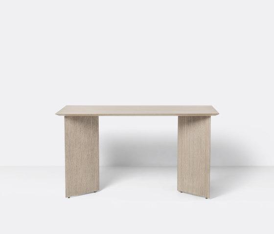 Mingle Desk Top 135 cm - Natural Oak Veneer by ferm LIVING | Console tables