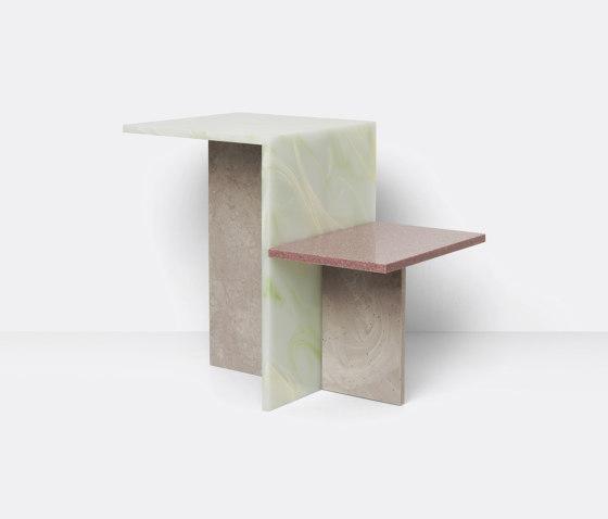 Distinct Side Table - Multi de ferm LIVING   Mesas auxiliares