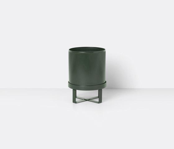 Bau Pot - Small - Dark Green de ferm LIVING | Pots de fleurs