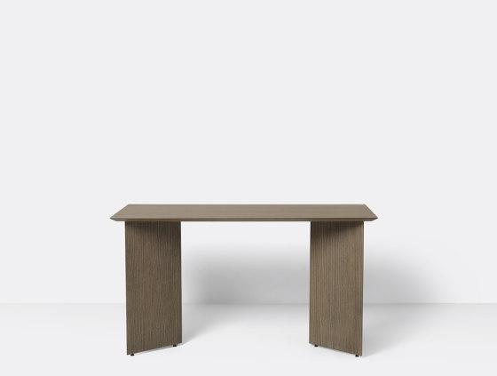 Mingle Wooden Table Legs - W48 - Dark Stained Oak Veneer by ferm LIVING | Trestles