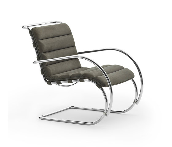 MR Lounge Chair with Arms de Knoll International | Fauteuils