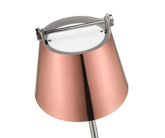NORD SUD lampe cuivre de SEYVAA | Luminaires de table