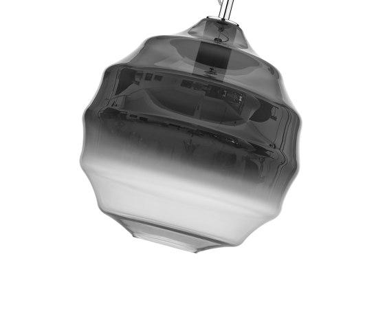 BIG suspension verre fumé de SEYVAA | Suspensions