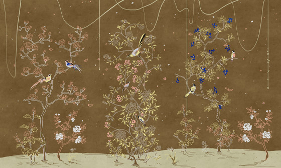 Aromatico groviglio de WallPepper | Revestimientos de paredes / papeles pintados