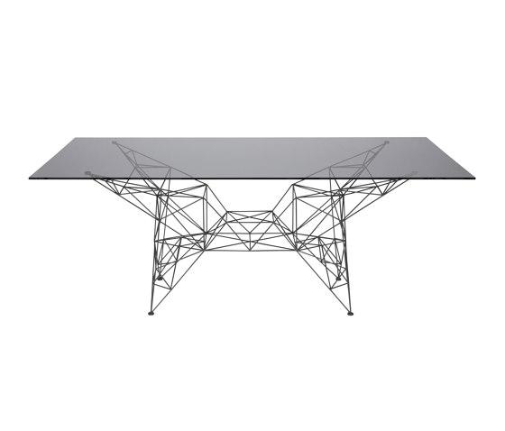 Pylon Dining Table Black de Tom Dixon | Tables de repas