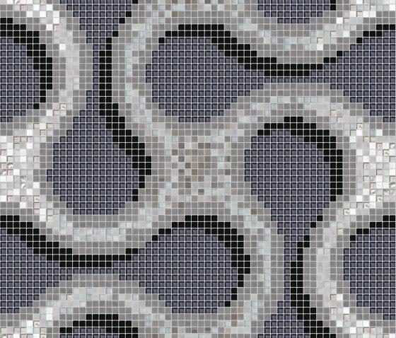 Shiru Black de Mosaico+ | Mosaïques verre
