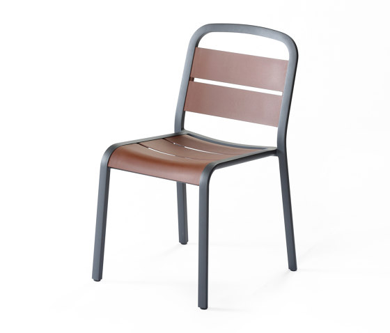 Marumi | Dining Chair in Aluminum by EGO Paris | Chairs