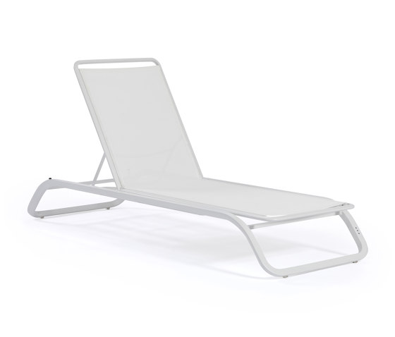 Marumi | Sunlounger without Arm and Tray by EGO Paris | Sun loungers