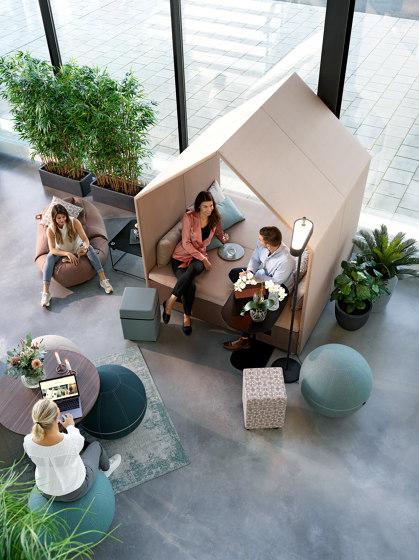 The Hut Lounge  + Double Bench Cover de Götessons | Box de bureau