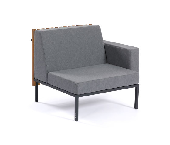 Sutra   Central Mudule and Armrest di EGO Paris   Poltrone
