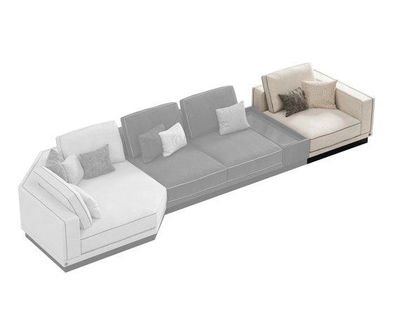 Sesto senso by Cipriani Homood   Modular seating elements