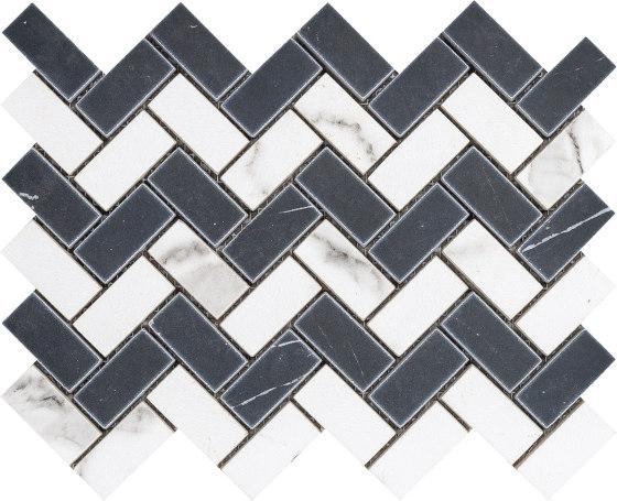 Rea Natural Marquina by Grespania Ceramica | Ceramic mosaics