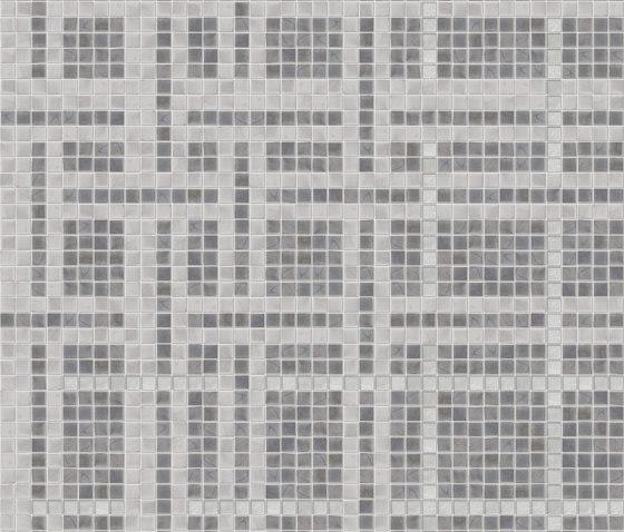 Cloth Grey di Mosaico+   Mosaici vetro