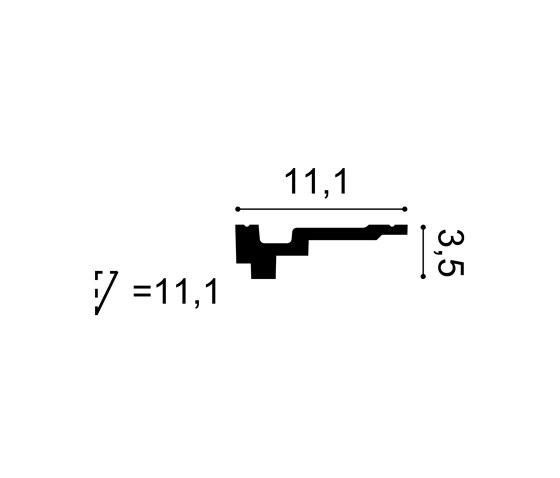 Coving - C355 de Orac Decor® | Listones