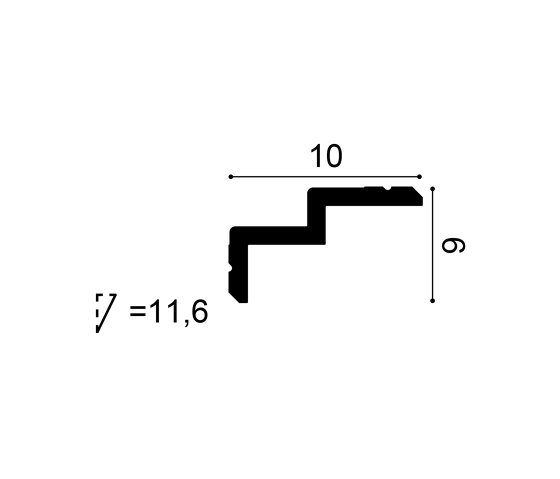 Coving - C390 STEPS de Orac Decor® | Listones
