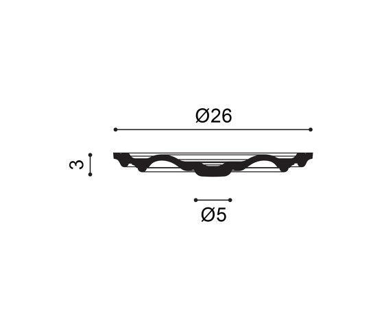 Decorative Elements - R07 de Orac Decor® | Rosones