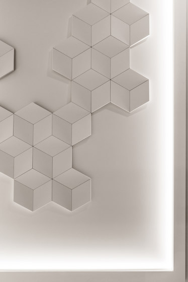 Decorative Elements - W105 ROMBUS de Orac Decor® | Paneles murales