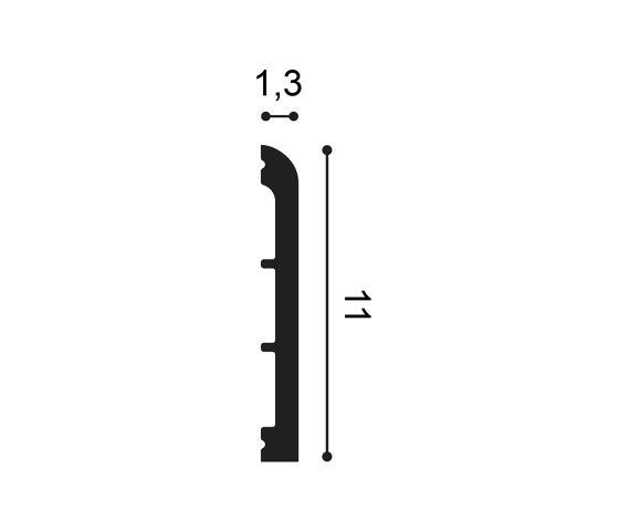 Skirting - SX184 CASCADE de Orac Decor® | Losetas táctiles