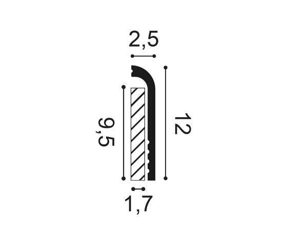 Skirting - SX185 CASCADE de Orac Decor® | Losetas táctiles