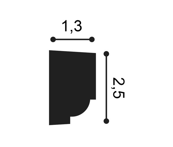 Wall Mouldings - P9050 de Orac Decor® | Orlas