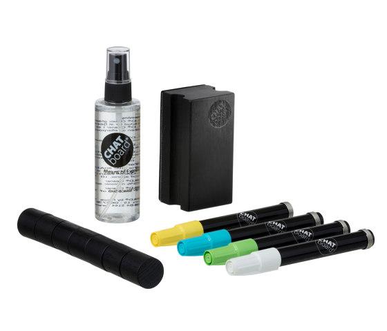 CHAT BOARD® Woody Starter Set Black Neon (1) by CHAT BOARD® | Pens
