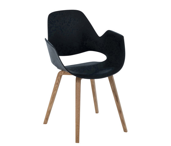 FALK | Dining armchair - Oiled oak legs by HOUE | Chairs