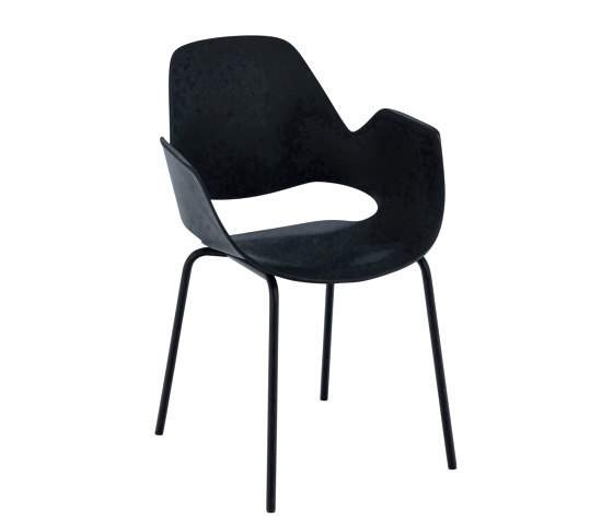 FALK | Dining armchair - Metal legs by HOUE | Chairs