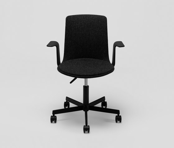 Lottus High Office chair - with wooden arms de ENEA | Sillas de oficina