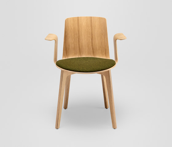 Lottus Wood chair - with wooden arms by ENEA | Chairs