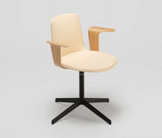 Lottus Confident chair - with wooden arms de ENEA | Sillas
