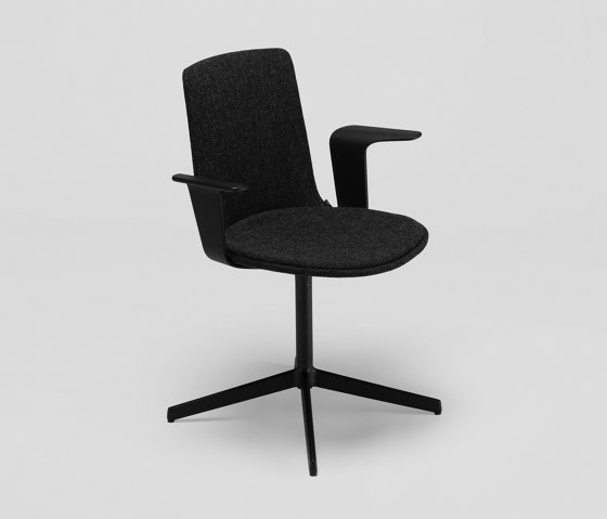 Lottus Confident chair - with wooden arms by ENEA | Chairs