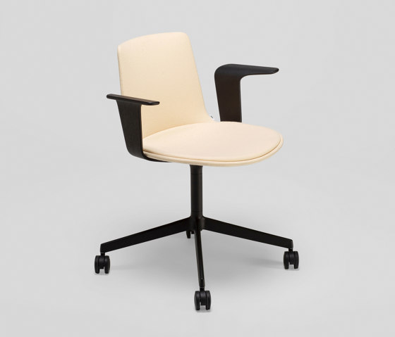 Lottus Confident chair - with wooden arms de ENEA | Sillas