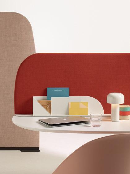 Paravan Mood by Arper   Table accessories