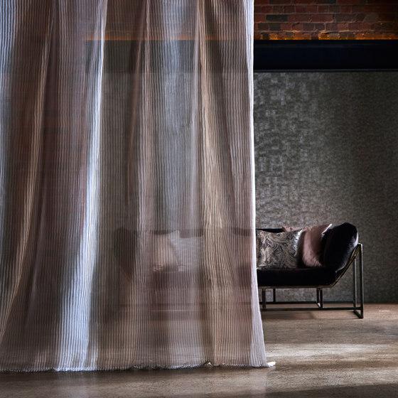 Stria Pearl/Sandstone/Slate by Anthology | Drapery fabrics