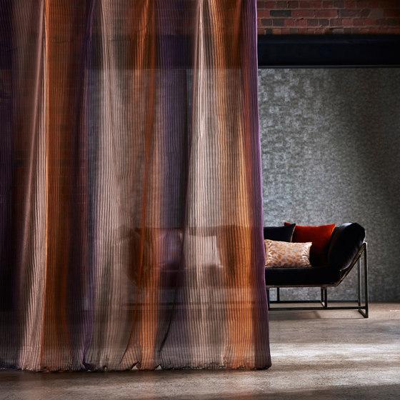 Stria Stone/Amber/Plum by Anthology | Drapery fabrics
