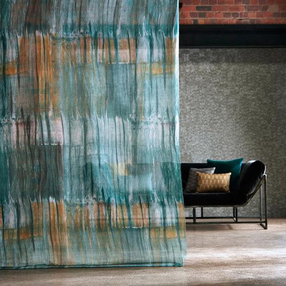 Yuti Emerald/Saffron/Stone by Anthology | Drapery fabrics