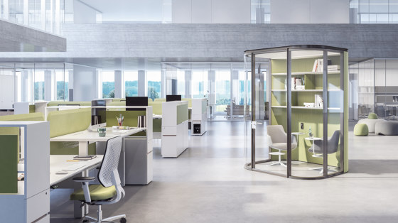Collaborative Multiple by Estel Group | Sound absorbing architectural systems