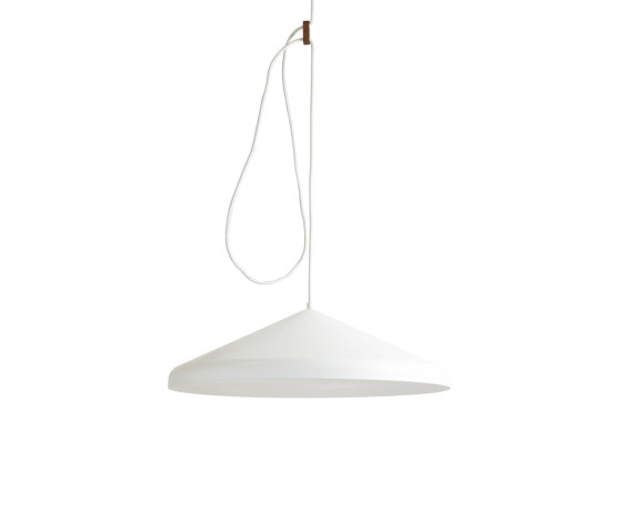 Lloop XL uni white by Vij5 | Suspended lights