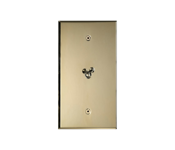 Cullinan - Brushed brass - Water drop lever by Atelier Luxus | Toggle switches