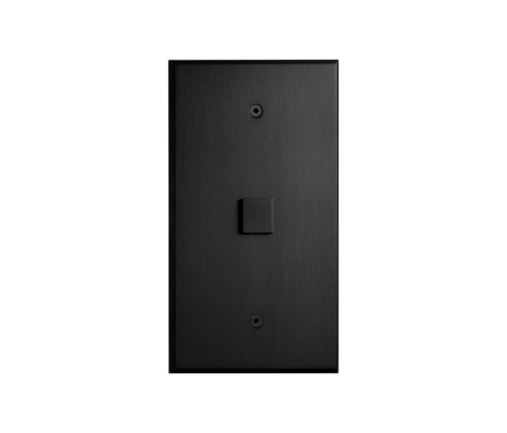Cullinan - Matte Bronze - Large square button by Atelier Luxus | Push-button switches